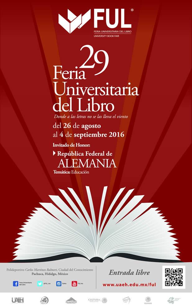 Carteles FUL :: Feria Universitaria del Libro 2017