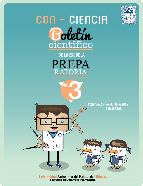 2fa0c64a31 BOLETÍN CIENTÍFICO PREPARATORIA NO. 3. CON-CIENCIA No. 4
