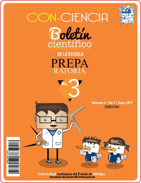 2a85db7b4d BOLETÍN CIENTÍFICO Publicación semestral. Con-Ciencia No. 7